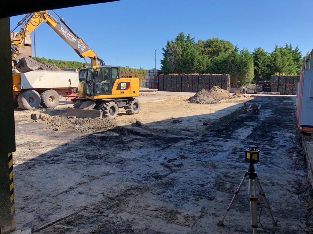 Geomeetdiensten - inmeten wegenbouw